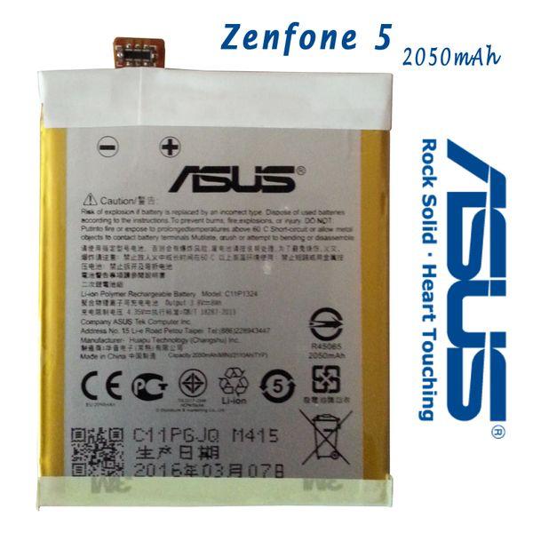 New Asus Zenfone 5 Battery C11P1324 Capacity 2050mAh A500CG A500KL A501 A501CG