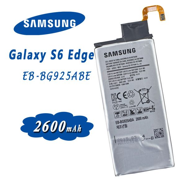 New Battery for Samsung Galaxy S6 Edge EB-BG925ABE SM-G925 Series