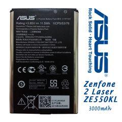 New Asus Zenfone 2 Laser Battery C11P1501 Capacity 3000mAh ZE550KL ZE601KL ZE551KL ZE600KL
