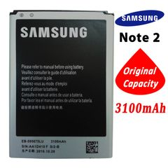 Samsung Galaxy Note 2, N7105 N7100 Battery, EB595675LU Capacity: 3050mAh