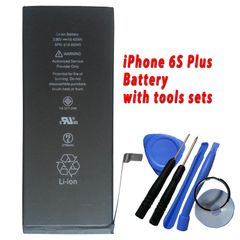 New iPhone 6S Plus Battery 616-00045 2750mAh with Free Tools Kits