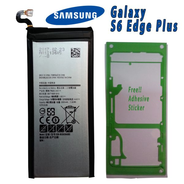 New Battery for Samsung Galaxy S6 Edge Plus EB-BG928ABE SM-G928 Series