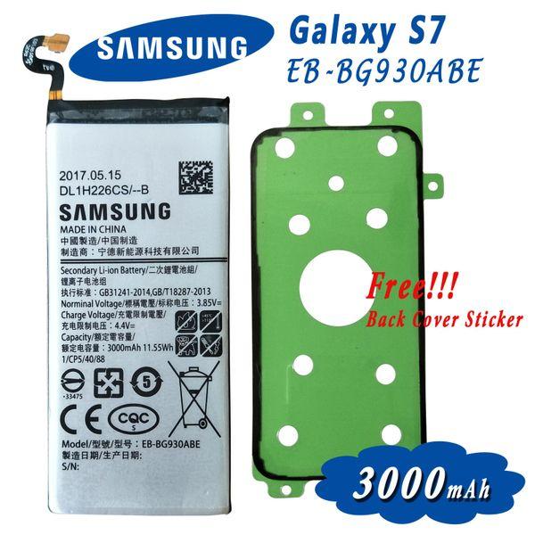 Samsung Galaxy S7 S7 Edge EB-BG930ABE EB-BG935ABE Battery 3000mAh, 3600mAh