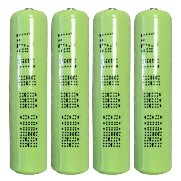 1.2V Rechargeable Ni-MH Battery 4pcs AAA size 900mAh