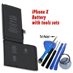 Apple iPhone X Battery 616-00351 High Capacity 2716mAh with free tools set