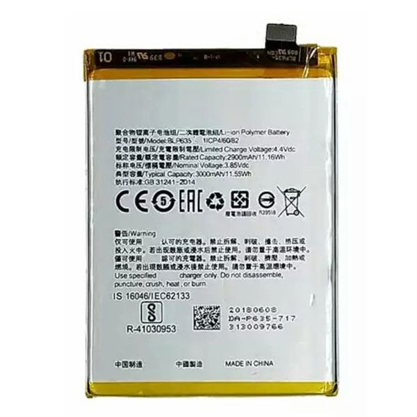OPPO R11 BLP635 3000mAh Battery Original Quality Capacity