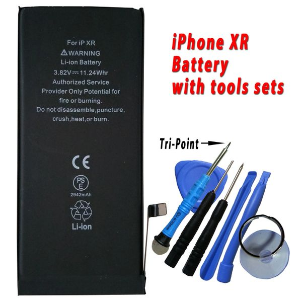 Apple iPhone XR Battery 616-00468 High Capacity 2942mAh with free tools set