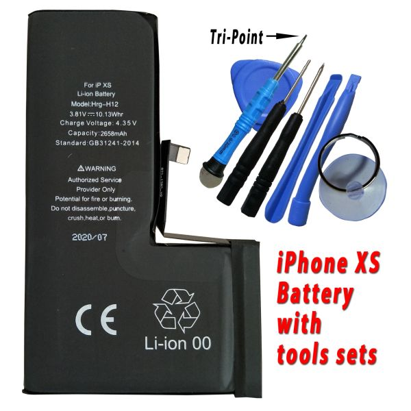 Apple iPhone XS Battery 616-00514 High Capacity 2658mAh with free tools set