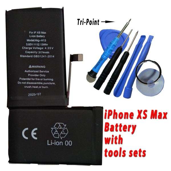Apple iPhone XS Max Battery 616-00351 High Capacity 3174mAh with free tools set