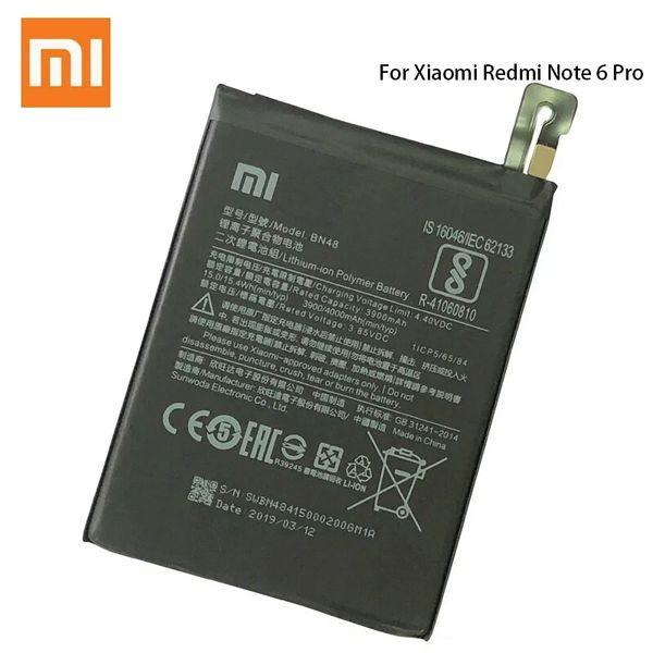 Xiaomi Redmi Note 6 Pro Battery BN48 4000mAh M1806E7TH