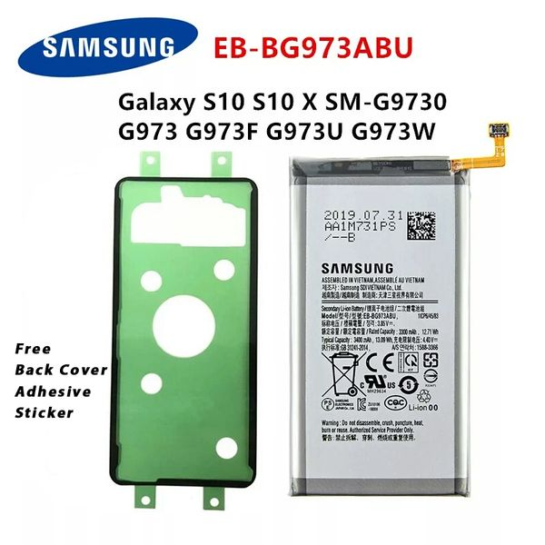 Samsung Galaxy S10 EB-BG973ABU Battery G9730 G973 G973F G973U G973W