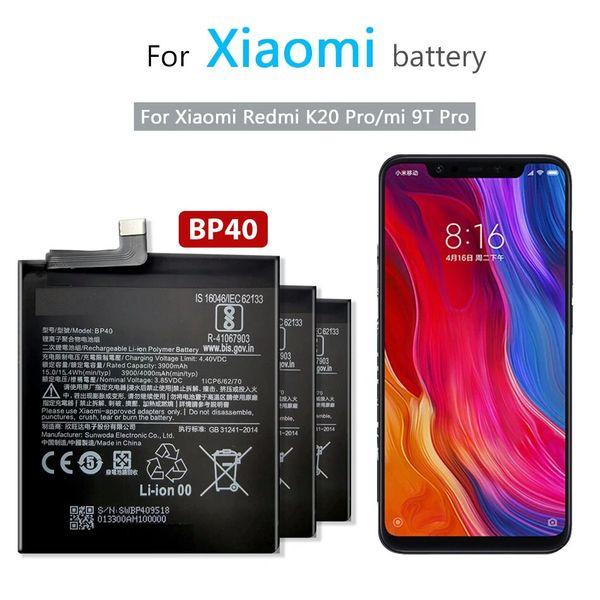 Xiaomi Redmi K20 Pro / MI 9T Pro Replacement Battery 4000mAh BP40