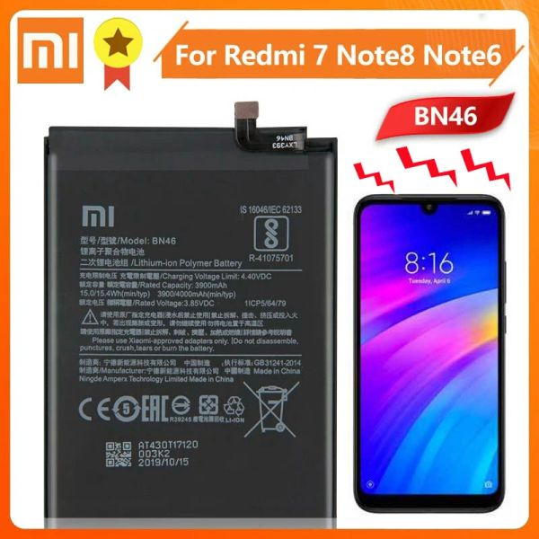Xiaomi Redmi 7 Note 6 Note 8 Replacement Battery 4000mAh BN46