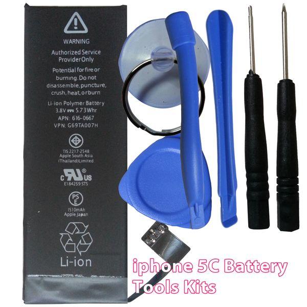 Apple iPhone 5C Internal Battery 616-0667 1510mAh + Tools Kits