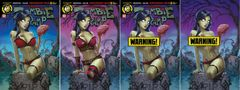 ZOMBIE TRAMP ONGOING #50 Abba's Discount Exclusive Cover Set Sabine Rich - Limited to 250