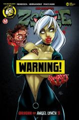 Zombie Tramp #59 Abbas Discount Exclusive Ash Madi Risque Variant w Trade Dress