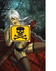 Zombie Tramp #61 Chris Ehnot Abbas Discount Exclusive Risque Virgin