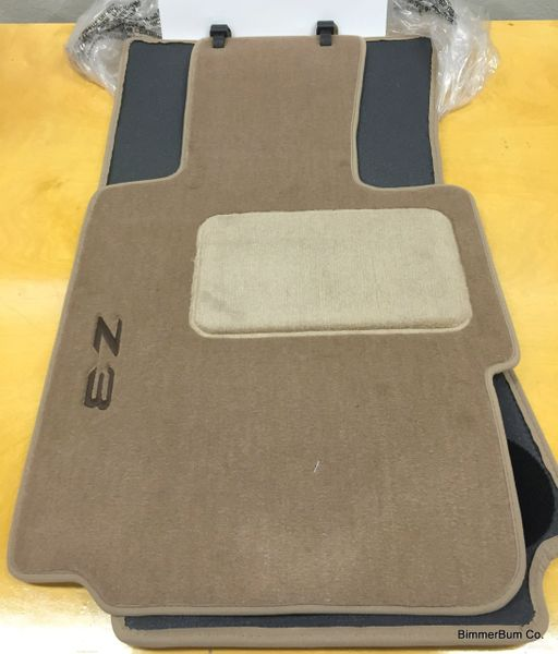 Nla Genuine Bmw Z3 Tan Floor Mat Set 82111470157 Bimmerbum Co