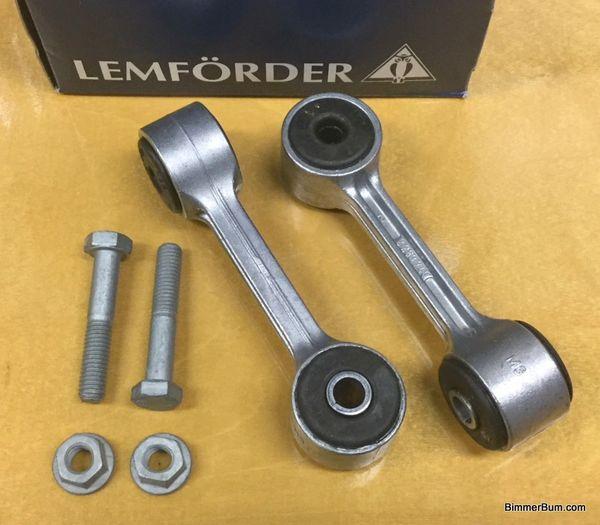 33551094619 BMW E46 3 Series Rear Anti Roll Bar Links Set of 2  MEYLE
