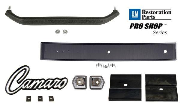 Dash Grab Bar Handle, Bezel, Emblem, Plate Kit