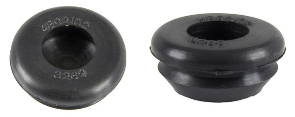 "Body Plug / Floor Plug Rubber Embossed One Inch (1"")"