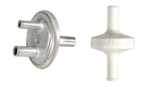 Headlight Vacuum Line Check Valve & Filter