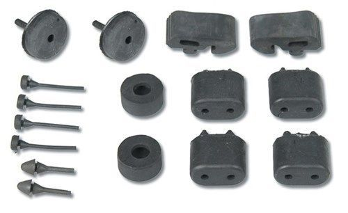 Door, Hood, Trunk, Console, Ashtray Lid and Glove Box Rubber Bumpers Kit