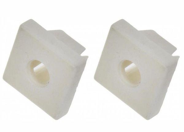 License Plate Nylon Nut Fastener Grommet Retainer
