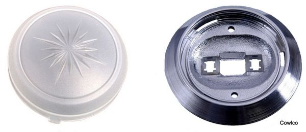 Dome Light Base & Lens