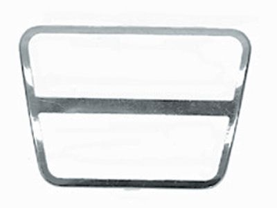 Clutch or Brake Pad Stainless Trim