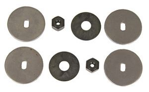 Headlight Motor Nut & Drive Washer Set