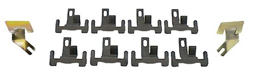 Lower Front Windshield Molding Clip Set