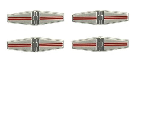 Seat Back Emblem Set 68 Camaro