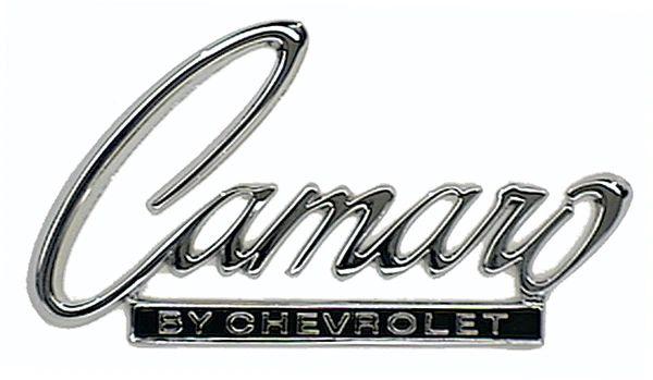 68-69 Camaro Header / Trunk Emblem Genuine GM