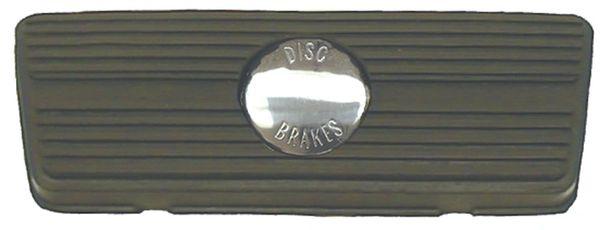 Automatic Brake Pad w/ Disc Brake Emblem