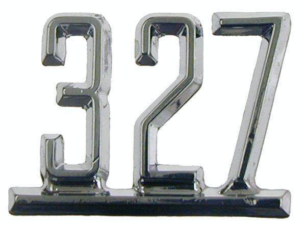 327 Fender Emblem