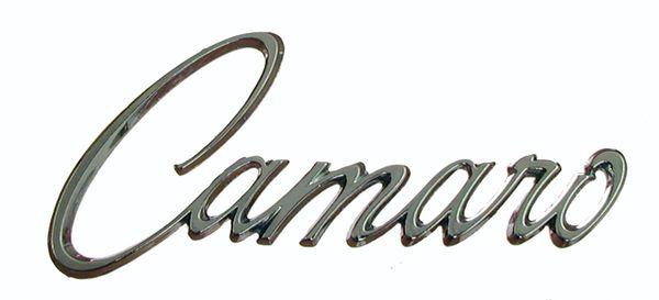 1968 1969 Camaro Fender Emblem Genuine GM Restoration