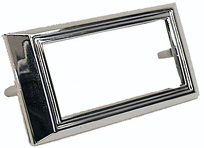 Chrome Sidemarker Light Bezel Front or Rear