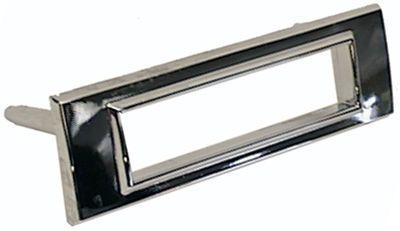 Chrome Sidemarker Light Bezel Front