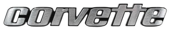 Corvette Rear Emblem Genuine GM