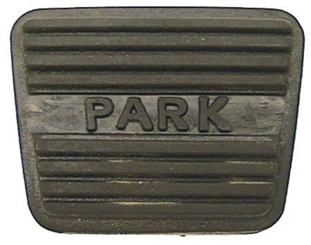 Large Park Brake Pedal Pad w/Park Logo