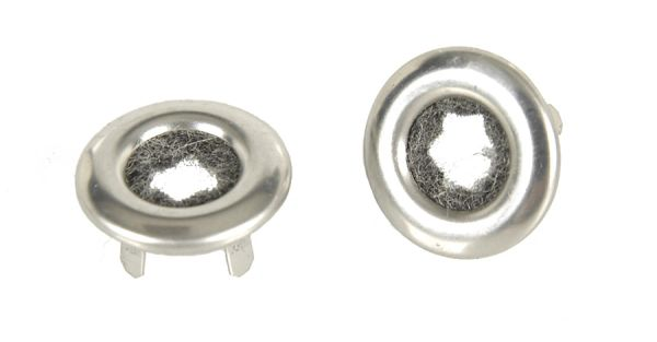Inner Door Lock Knob Ferrule Pair (two)