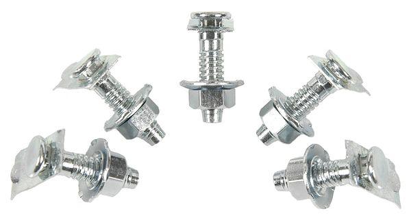69 Camaro Tail Lamp Stud Nut Set Correct Five (5)