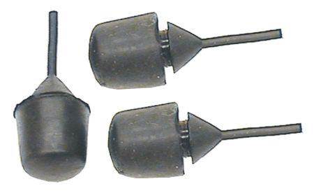 License Plate & Fuel Door Rubber Bumper Stopper