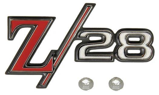 Rear Tailpan Emblem