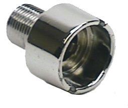 Dash Headlight Nut Chrome