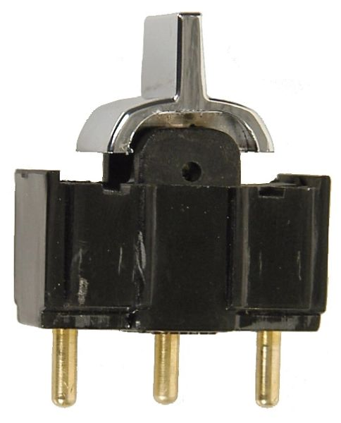 Convertible Power Top Switch Chrome