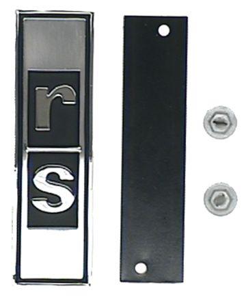 Grille Emblem w/ Retainer