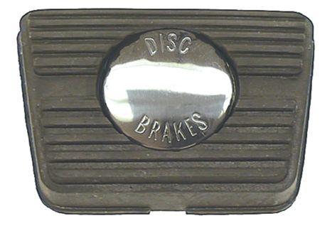 Manual Brake Pad w/ Disc Brake Emblem