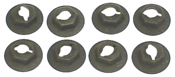 Side Marker Lens Palnut / Speed Nut Set